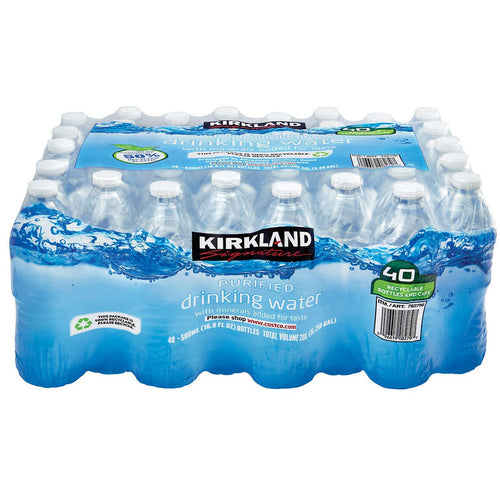 Kirkland Signature Purified Drinking Water, 16.9 Ounce