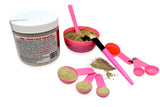 Aztec Secret Indian Healing Clay & 6 in 2 Cosmetic Face Mask Mixing Tool Kit with Organic Apple Cider Vinegar