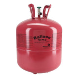 Balloon Time Disposable Helium Tank 14.9 cu.ft with 50 Latex Balloons - Party Set 1