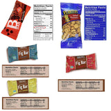 Blue Ribbon Healthy Snack Care Package - 120 Count - Bulk Variety Pack Mixed Bars Health Box