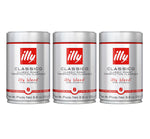 Illy Caffe Whole Bean Medium Roast Coffee 250g (3-pack)
