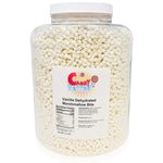Vanilla Dehydrated Marshmallow Bits in Jar, 2.5 Pounds