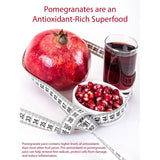 100% Pure Organic Pomegranate Juice, Glass Bottle, No Sugar Added, 33.8 Fl Oz, Pack of 6