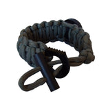 Type-III Serrated Loop Striker for Paracord Projects
