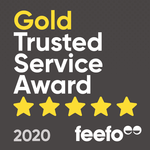 Gold Trusted Service Award 2020