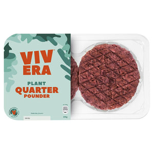 (USE BY 10/07/2020) Vivera - Plant Quarter Pounder (226g)