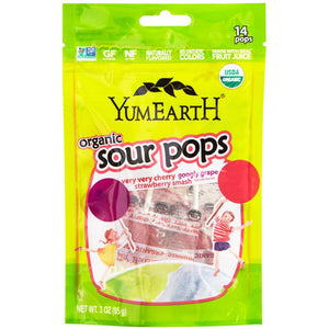 Yum Earth Sour Pops (75g)
