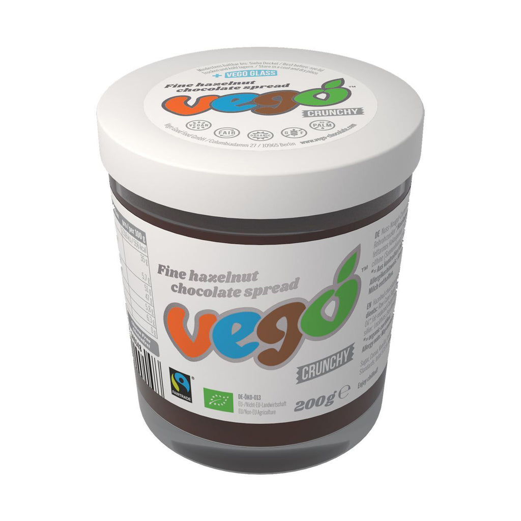 Black Friday Offer: 15% OFF! Vego - Fine Hazelnut Crunchy Chocolate Spread (200g)