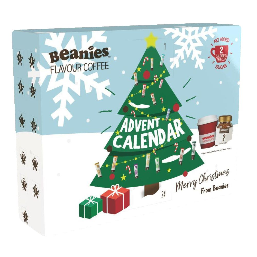 Beanies - Christmas Coffee Advent Calendar (800g) - TheVeganKind