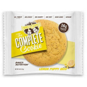 (BEST BEFORE 12/12) Lenny & Larry's - The Complete Cookie Lemon Poppyseed (113g) - TheVeganKind