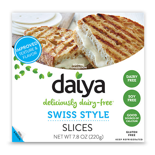 (NEW TO UK) Daiya Cheeze Slices (Various) (220g) - TheVeganKind