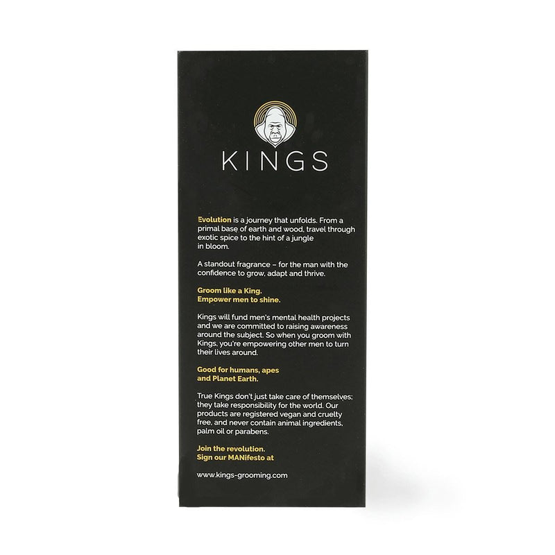 Aftershaves & Perfumes - Kings - 'Evolution' - Eau De Toilette Mens Fragrance (50ml)