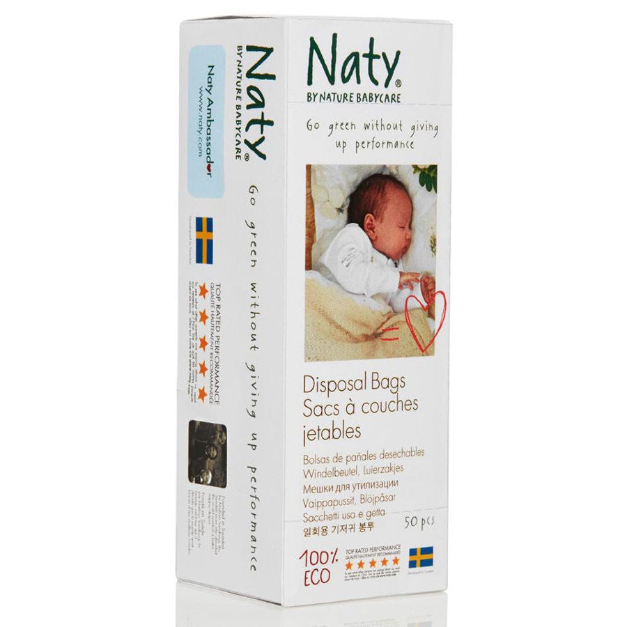 Baby - Naty By Nature Babycare - 100% Degradable Nappy Bags (50 Bags)