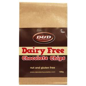 Baking - D & D Chocolates - Dairy Free Chocolate Chips (160g)
