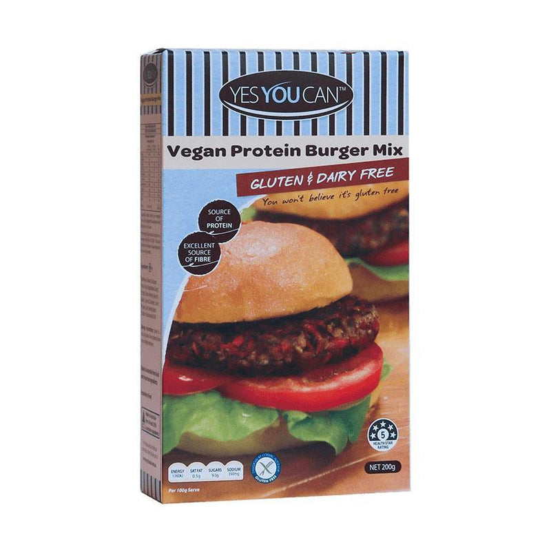 Baking - Yes You Can - Vegan Protein Burger Mix (allergen Free) (200g)