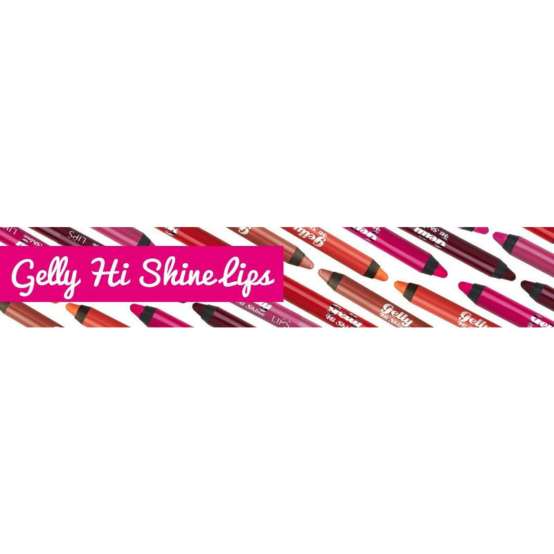 Barry M Gelly Hi Shine Lip Crayons (Various) - TheVeganKind