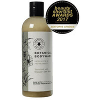 Bath Foam & Shower Gels - Greenfrog - Botanical Bodywash - Geranium & Peppermint (300ml)