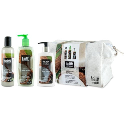 Faith In Nature Coconut Gift Set - TheVeganKind
