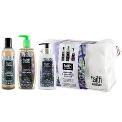 Bathroom - Faith In Nature Lavender & Geranium Gift Set
