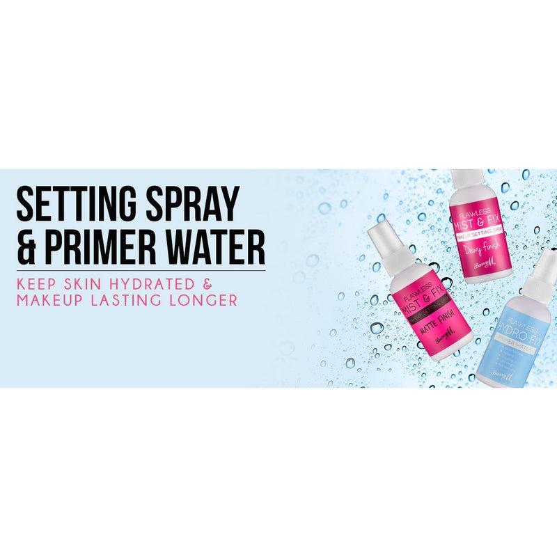Beauty - Face - Barry M Flawless Hydro Fix Primer Water