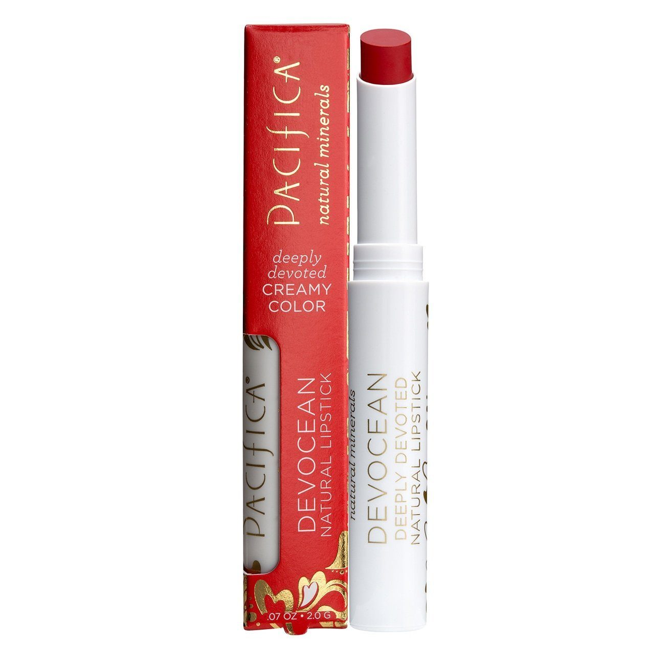 Beauty - Lips - Pacifica Beauty - Devocean Natural Lipstick (2g) (Various)