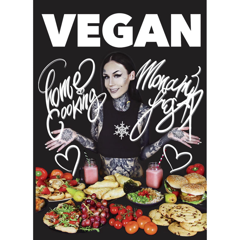Books - Monami Frost - Vegan Home Cooking