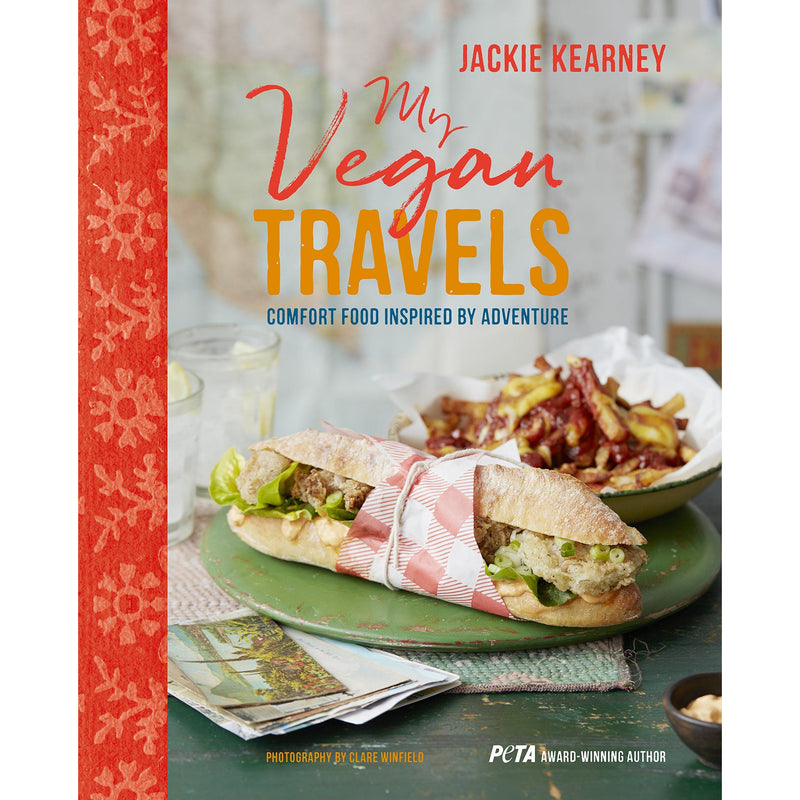 Books - My Vegan Travels. Comfort Food Inspired By Adventure