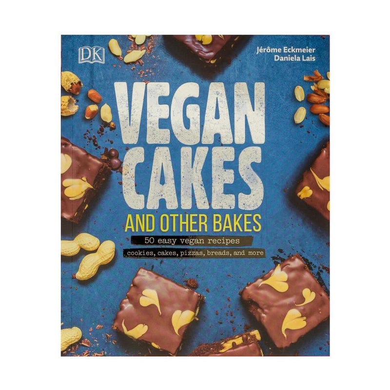 Books - Vegan Cakes And Other Bakes (Abridged TVK Version) - Jerome Eckmeier & Daniela Lais