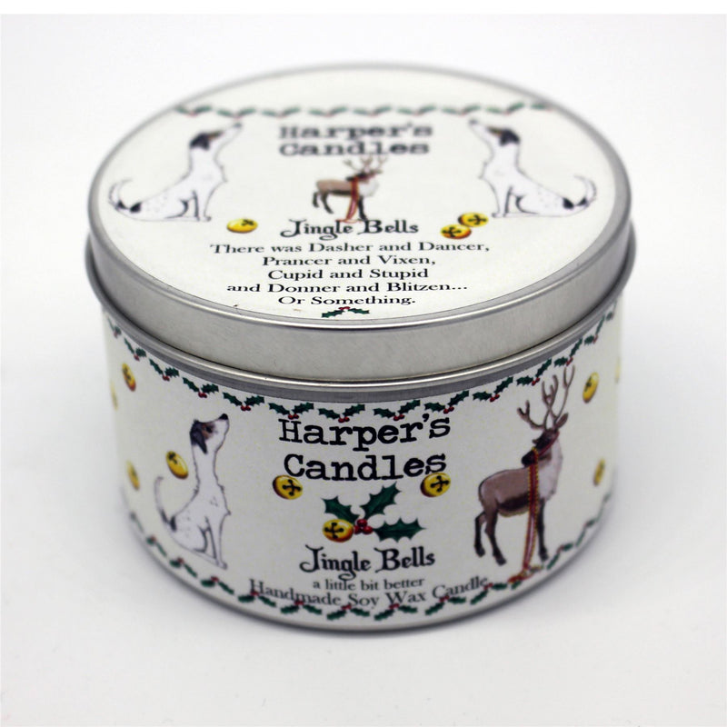 Candles - Harper's Candles - Christmas Candle - Jingle Bells