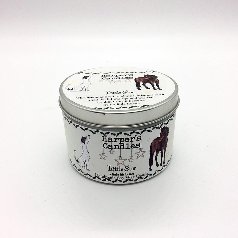 Candles - Harper's Candles - Christmas Candle - Little Star