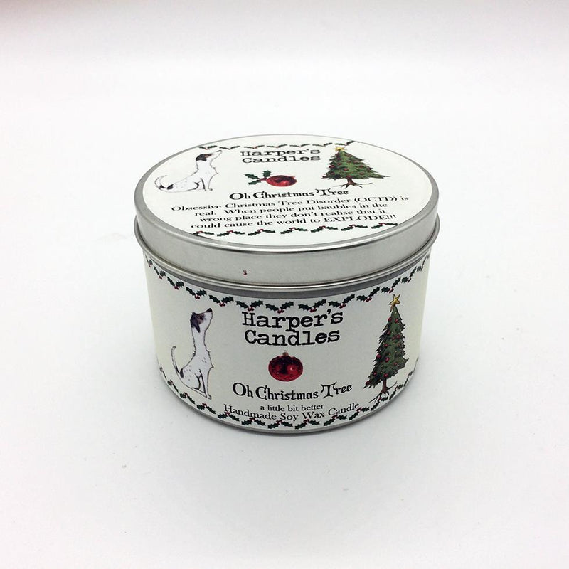 Candles - Harper's Candles - Christmas Candle - Oh Christmas Tree