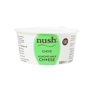 Cheese - Nush - Natural Almond Cheese & Chive Spread (150g)