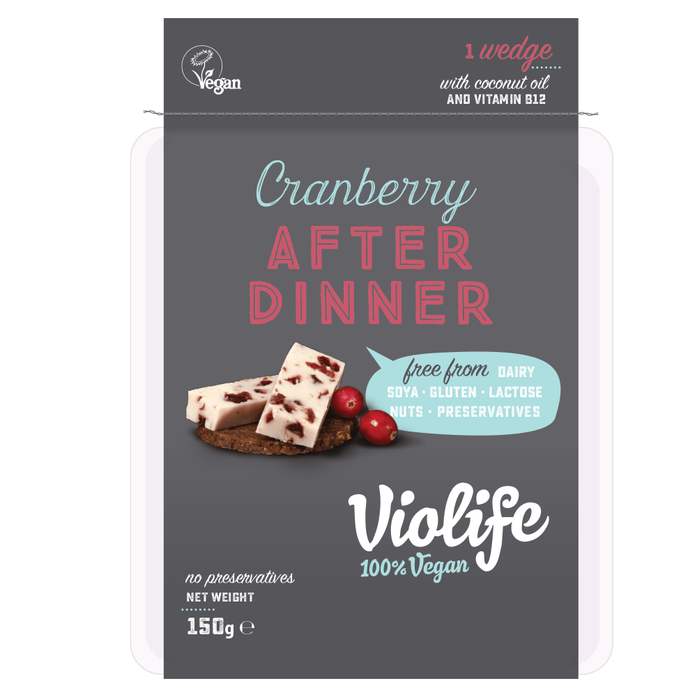 Cheeses - Violife After Dinner - Cranberry & Blueberry (150g)