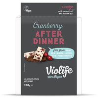 Cheeses - Violife - Cranberry After Dinner Cheese Block (150g)