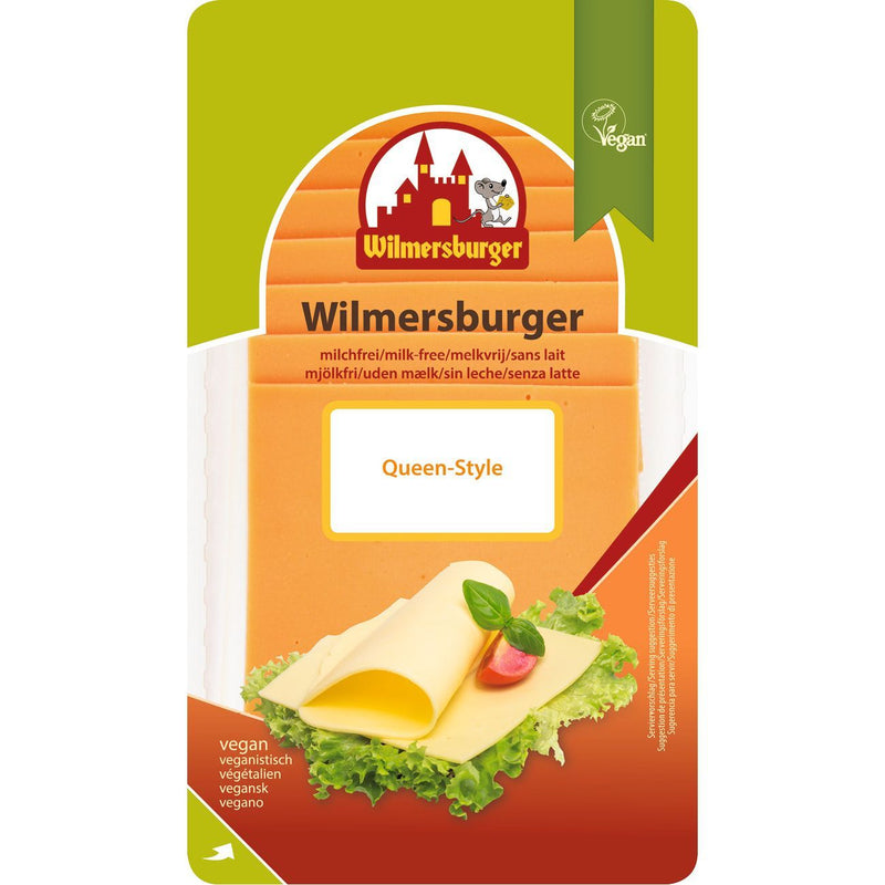 Cheeses - Wilmersburger - Queen Style Cheddar Slices (150g)