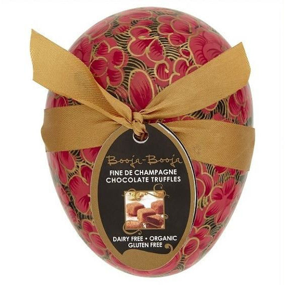 Chocolate Box - Booja Booja Fine De Champagne Chocolate Truffles Easter Egg (35g)