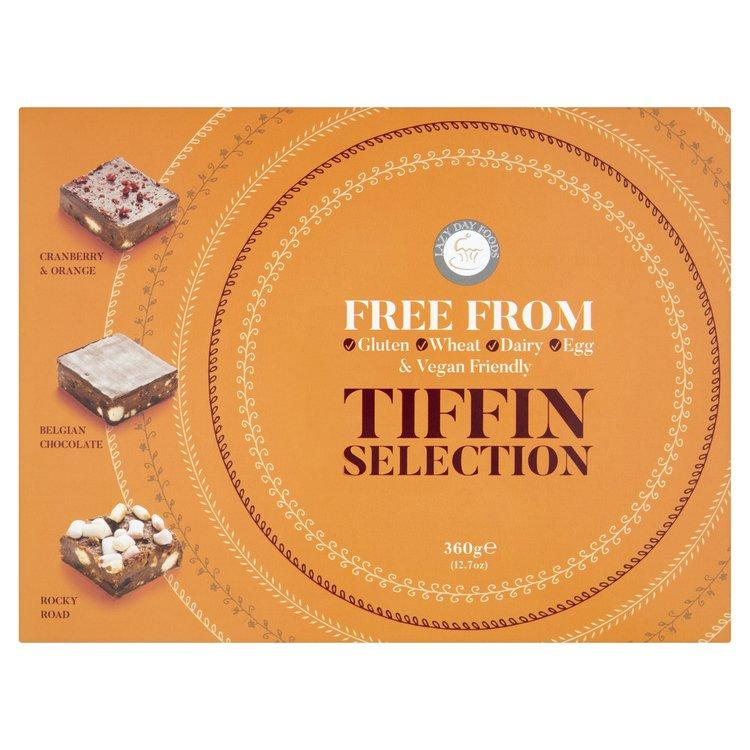 "Chocolate Covered Snacks - Lazy Day ""Free From"" Tiffin Selection Gift Box (360g)"