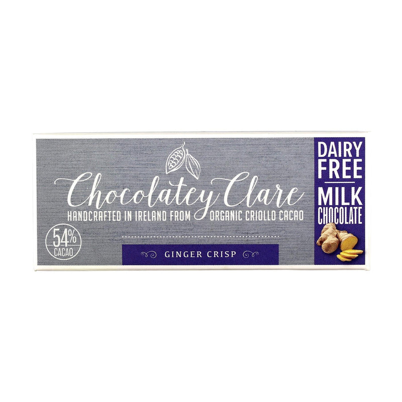 Chocolates/Bars - Chocolatey Clare - Ginger Crisp (40g)