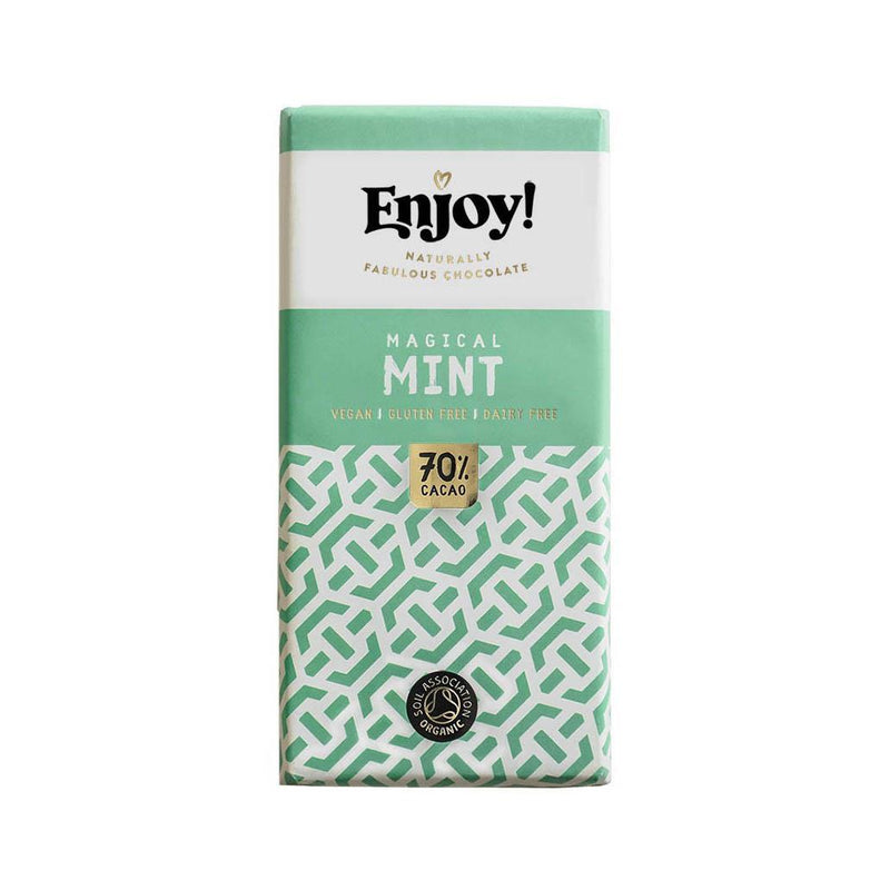 Chocolates/Bars - Enjoy Chocolate - Mint Chocolate Bar (35g)