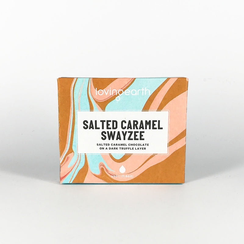 Chocolates/Bars - Loving Earth Salted Caramel Swayzee (45g)