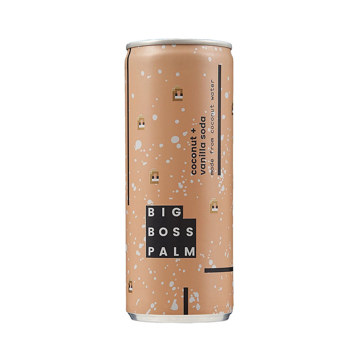 Cold Drinks - Big Boss Palm - Coconut Soda 250ml (Various)