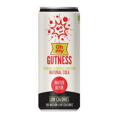 Cold Drinks - Oh My Gutness - Natural Cola Sparkling Fermented Water Kefir (330ml)