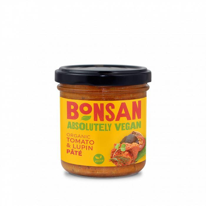 Condiments & Spreads - Bonsan - Organic Tomato And Lupin Pate (140g)
