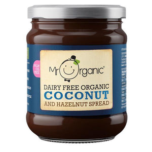 Condiments & Spreads - Mr Organic - Dairy Free Coconut & Hazelnut Spread (200g)