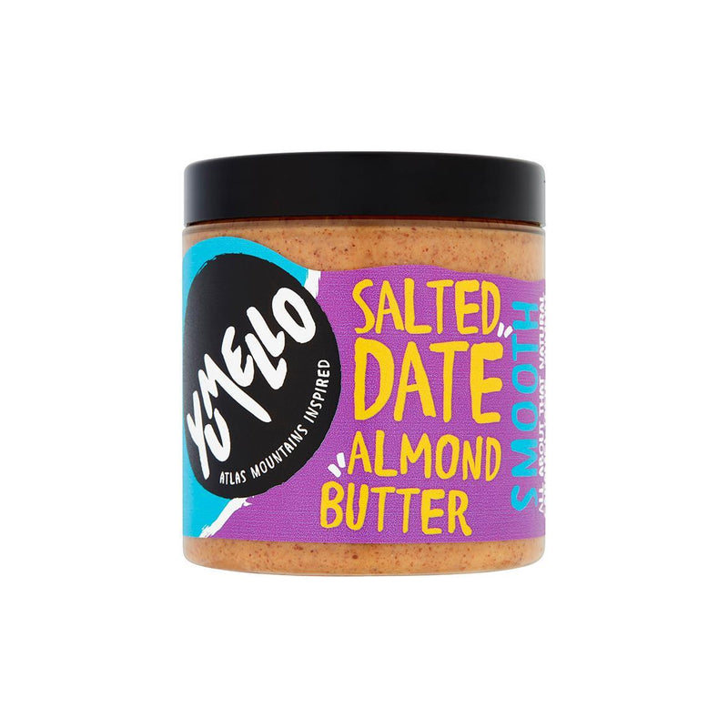 Condiments & Spreads - Yumello - Smooth Salted Date Almond Butter (230g)