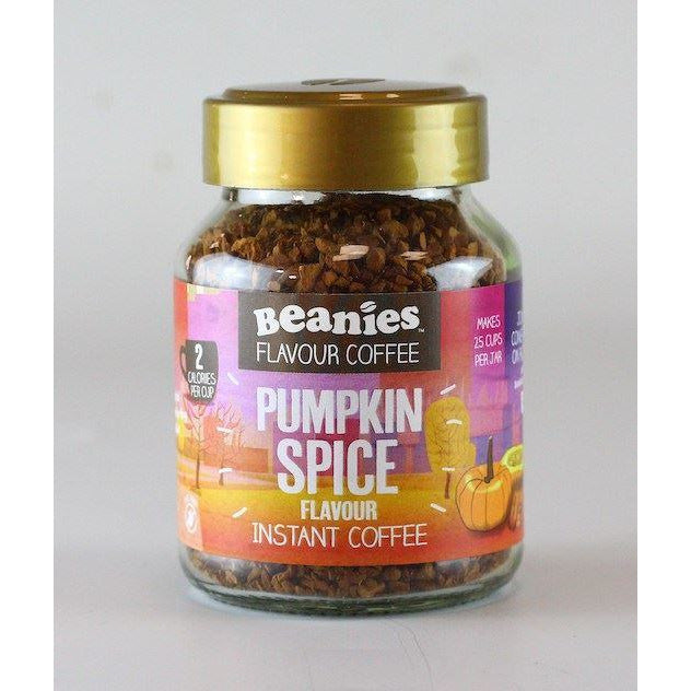 Beanies - Pumpkin Spice Flavour Instant Coffee (50g)