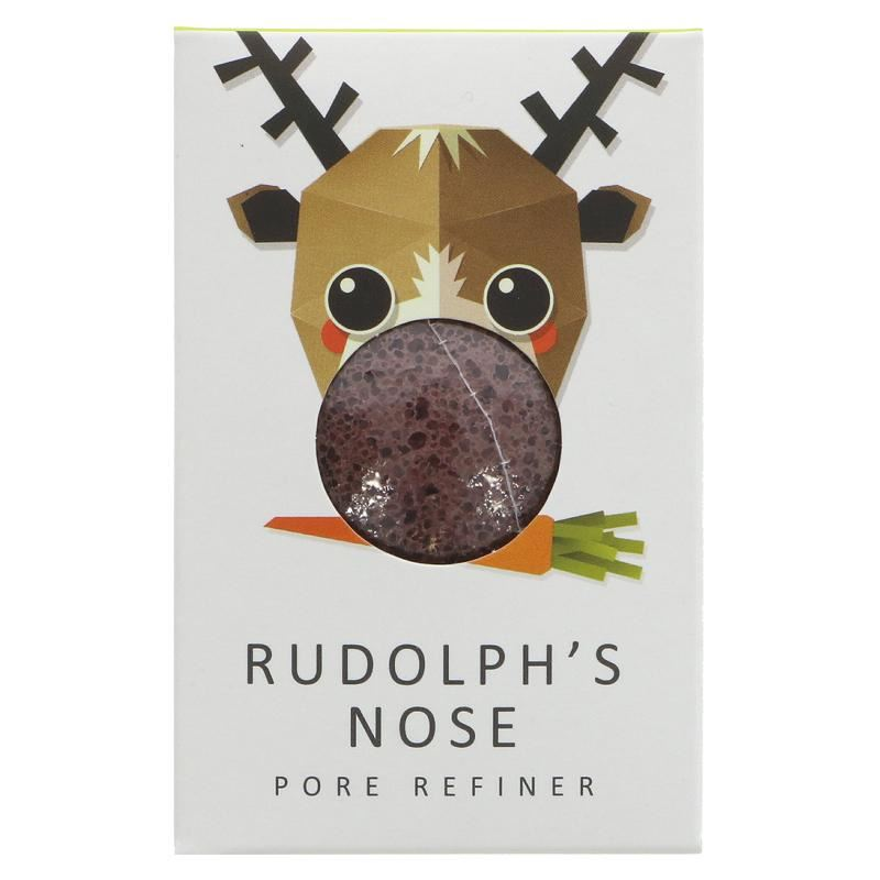 The Konjac Sponge Co - Rudolph Sponge with Red Clay