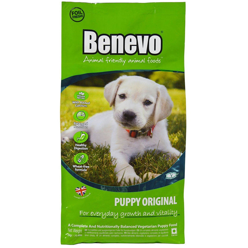Dog Food - Benevo - Dry Puppy Food Original (2kg)
