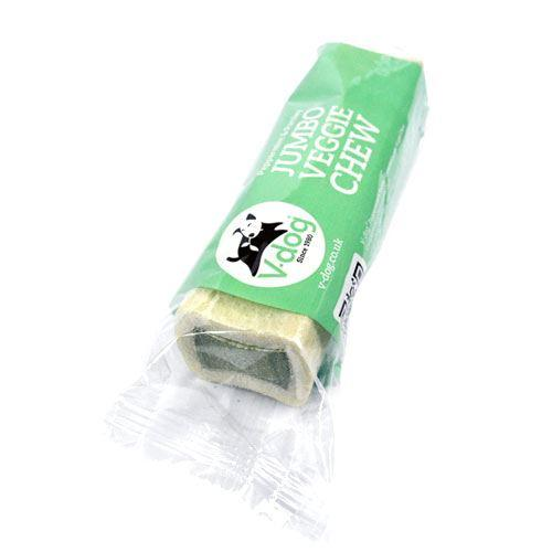 Dog Food - V-dog - Jumbo Veggie Chew With Peppermint & Parsley (210g)