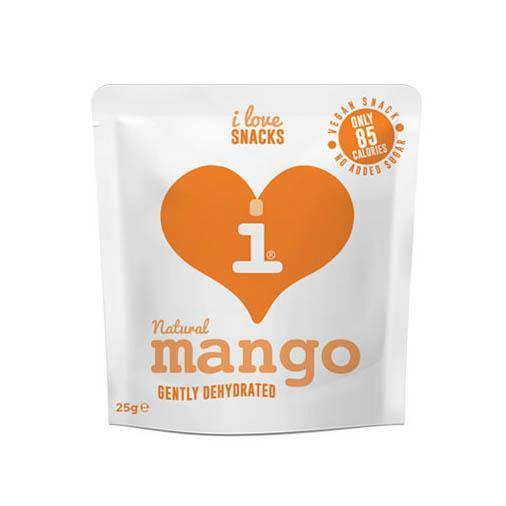 Dried Fruits - I Love Snacks - Gently Dehydrated Mango (25g)